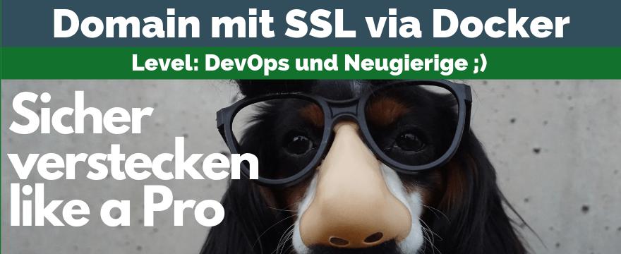 Https für Entwicklung mit Docker + Traefik 1.7